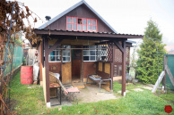 Záhrada (348 m2) s chatkou Spišská Nová Ves
