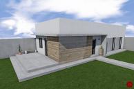 RD 4-izbový bungalov, pozemok 525 m2 Odorín