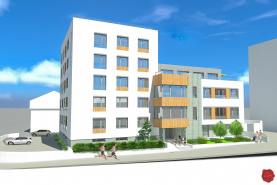 Novostavba 3-izbový byt (85 m2) centrum Sp. Nová Ves