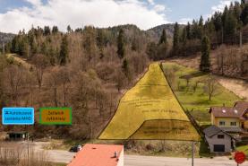 Stavebný pozemok (2390 m2) Krompachy