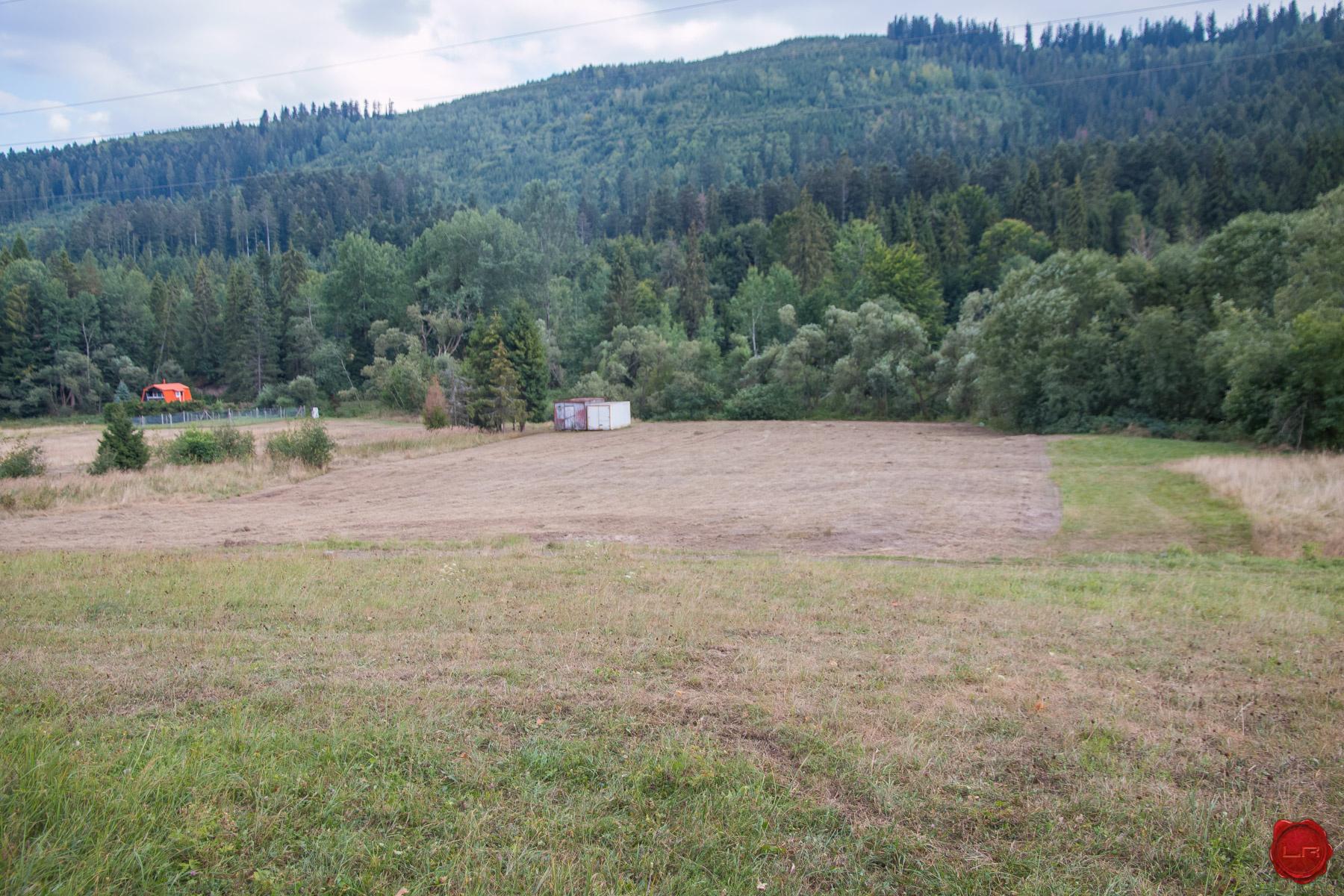 Rekreačný pozemok Novoveská Huta (17 EUR/m2)