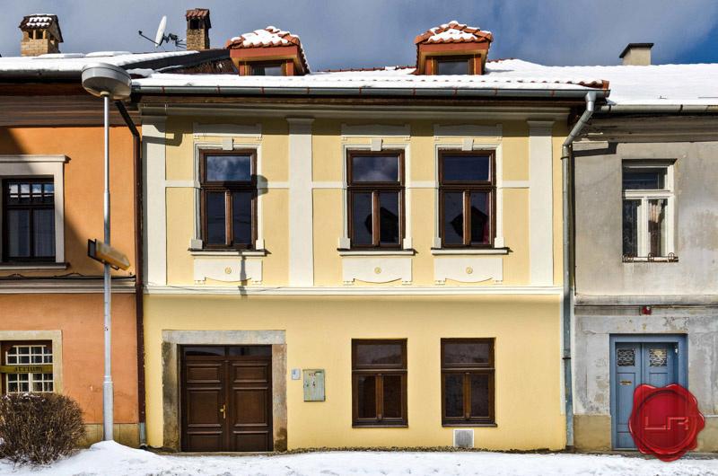 Historický meštiacky dom v Levoči