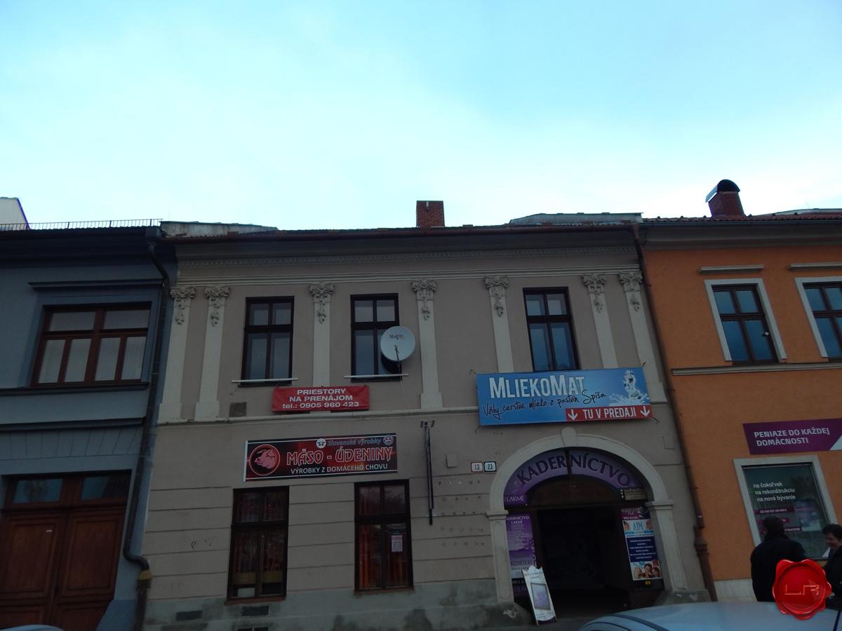 Podnikateľský priestor (18 m2), centrum Spišská Nová Ves