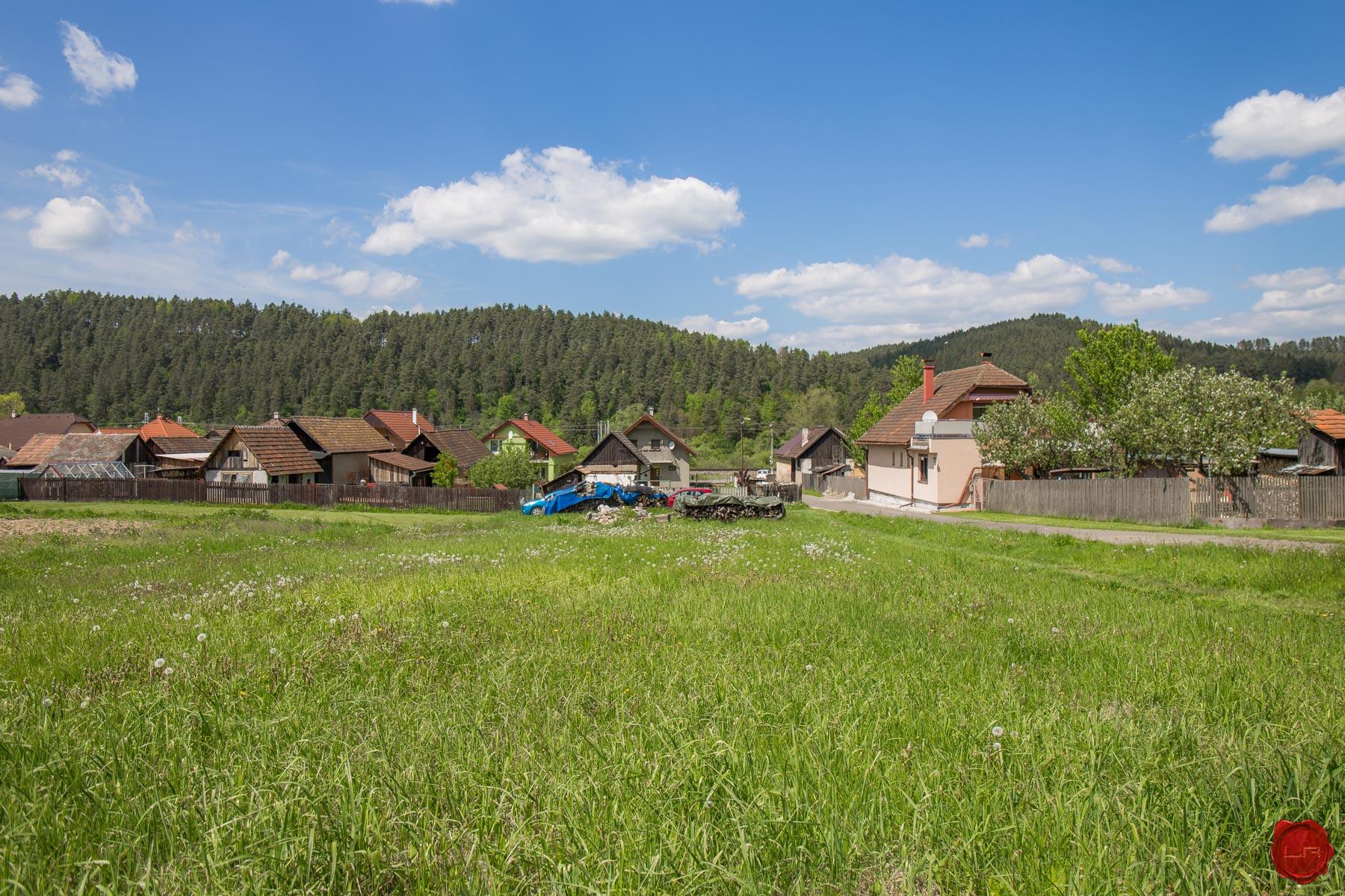 Dve parcely 1000 m2 Matejovce nad Hornádom