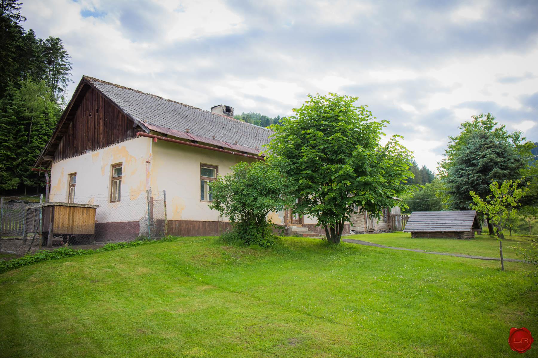 Pozemok s domom Novoveská Huta