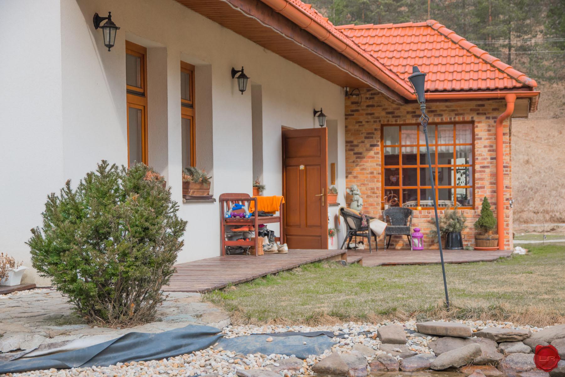 Romantický dom na Galmuse